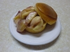Pan Roasted Peaches Cornbread