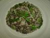 Quinoa and Black Lentils with Asparagus